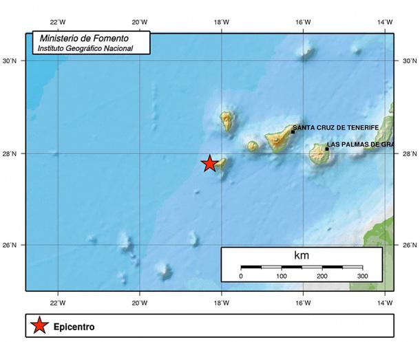 Terremoto 27122013 El Hierro