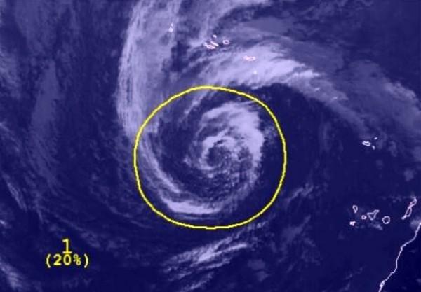 ciclón subtropical, Canarias