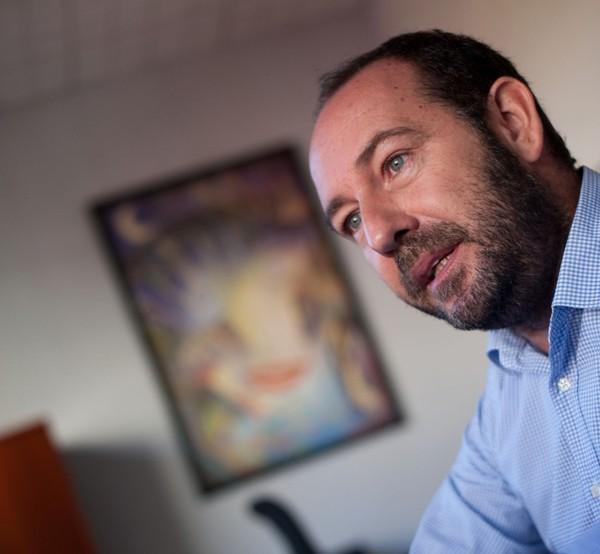 Fernando Ballesteros, concejal de fiestas de Santa Cruz/ FRAN PALLERO
