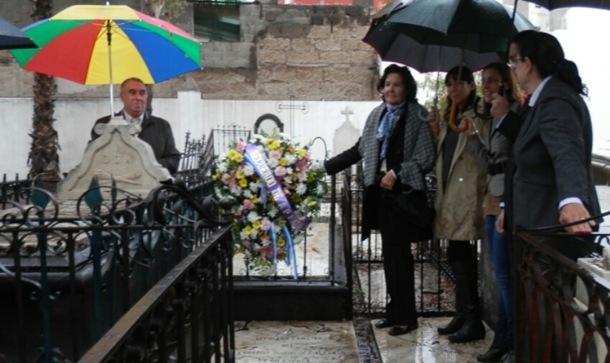homenaje presidente del Cabildo Eduardo Domínguez Afonso