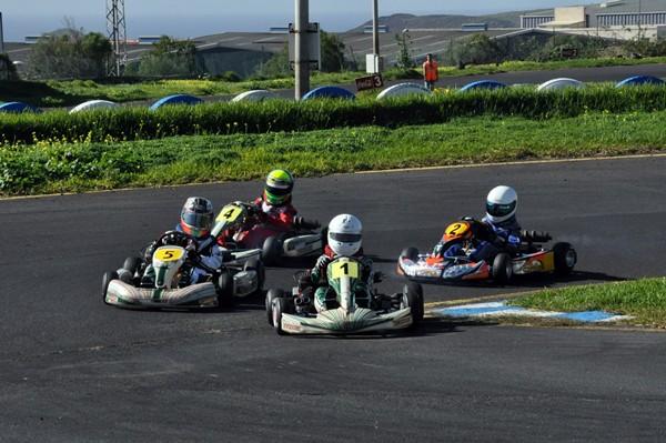 La prueba tinerfeña del Autonómico fue organizada por la Federación Tinerfeña, que en 2013 ha vuelto a fallar con el Karting. / javi díaz (motorchicharrero.com)