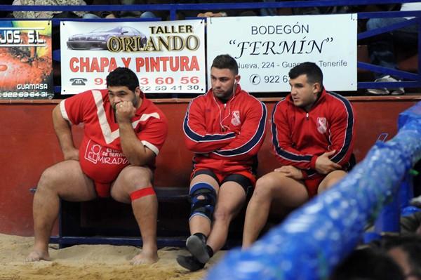 Los puntales del Rosario están convencidos del potencial de su equipo. / JAVIER GANIVET
