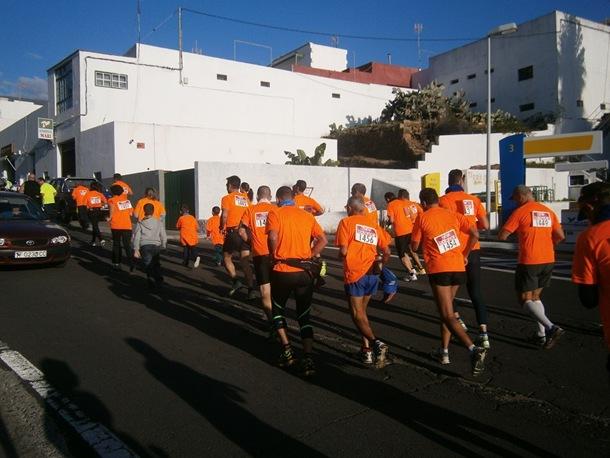 maratón solidario Fasnia