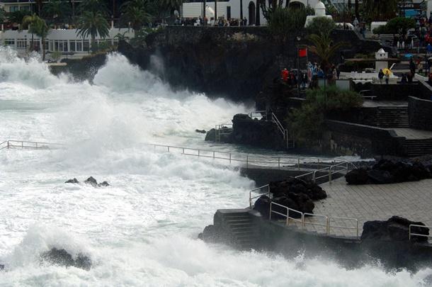 oleaje Puerto de la Cruz