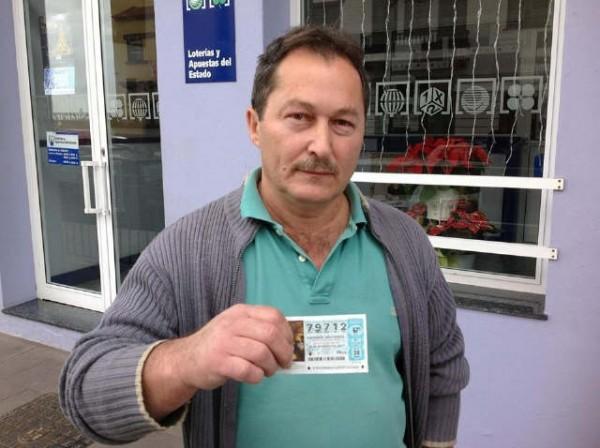 La lotería también llega a la isla bonita. Algunos palmeros compraron números en Tenerife