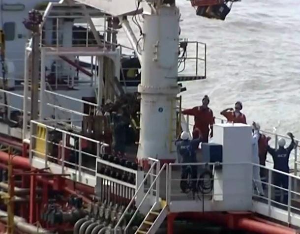 petrolero encallado en Tan Tan