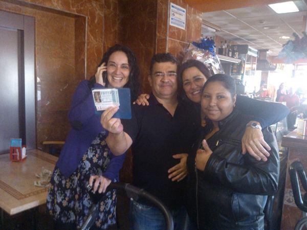 Celebración en la gasolinera Repsol de El Porís. | NORCHI