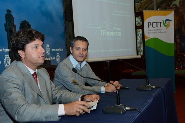 programa TF Invierte Antonio García Marichal y Pedro David González
