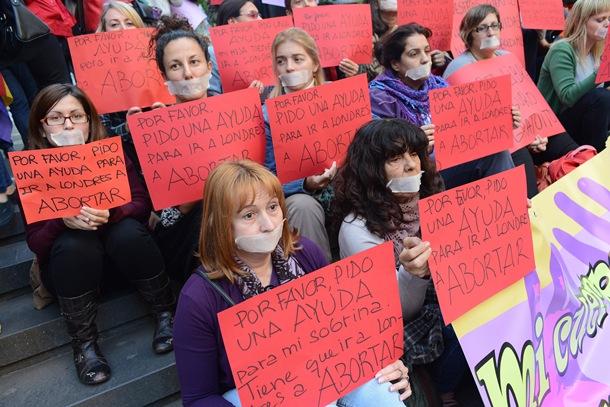 protesta aborto Santa Cruz de Tenerife