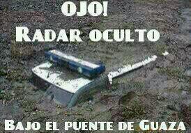 Radar oculto en Guaza
