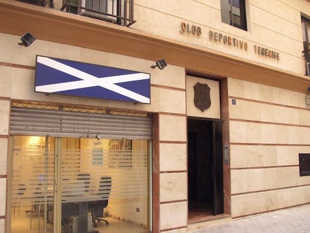 Callejón del Combate sede CD Tenerife