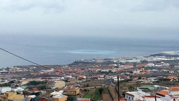 vertidos al mar Polígono industrial de Güímar