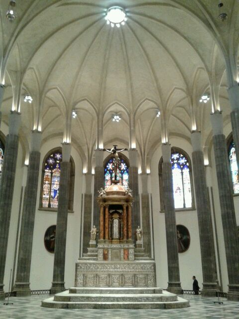 Imagen del interior de la Catedral. / SERGIO MÉNDEZ