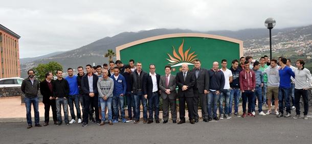 CD Tenerife almuerzo Hotel Las Águilas