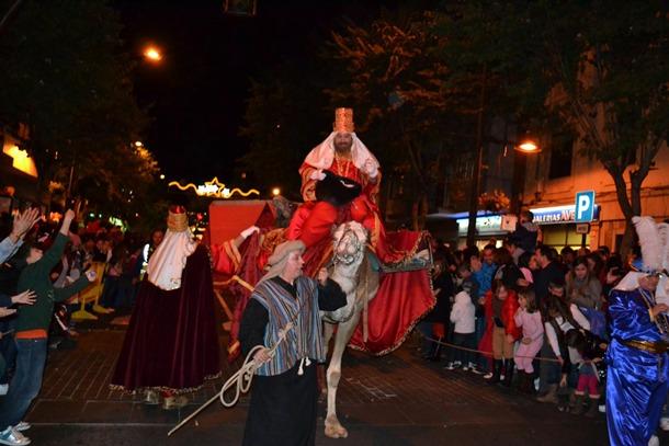 Cabalgata Reyes Magos La Orotava