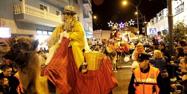 Cabalgata Reyes Magos Los Realejos