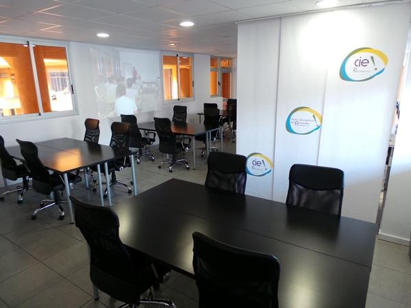 El recinto empresarial está ubicado en el mercado municipal. | M. PÉREZ