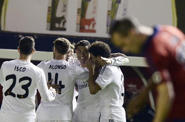 Cristiano Ronaldo Osasuna Real Madrid