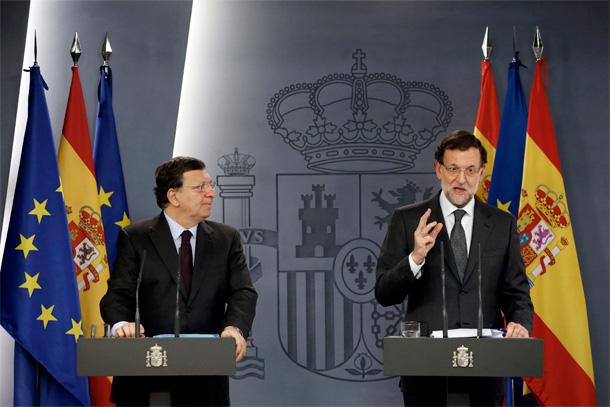 Durao Barroso y Mariano Rajoy