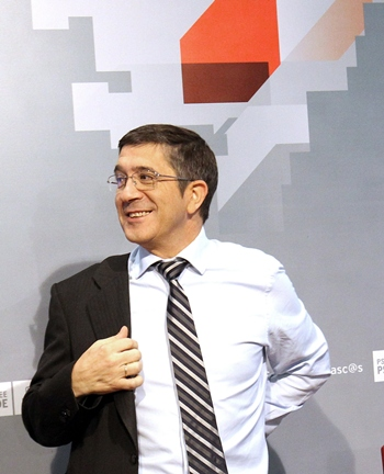 El líder del PSE, Patxi López