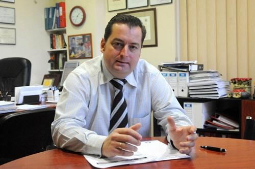 El tinerfeño Carlos Gómez, especialista contra tóxicos financieros. | DA
