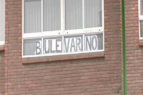 Gramonal Burgos protesta