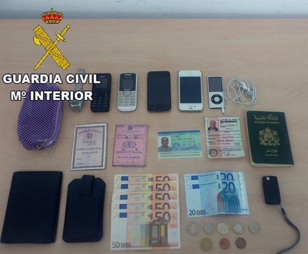 Guardia Civil Lanzarote robos Fuerteventura