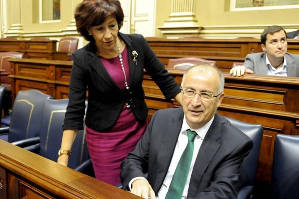 Inés Rojas y Francisco Hernández Spínola