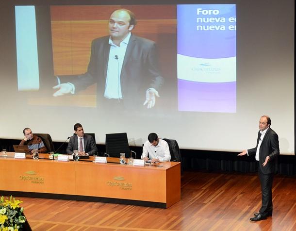 José Carlos Díez foro Nueva economía, nueva empresa