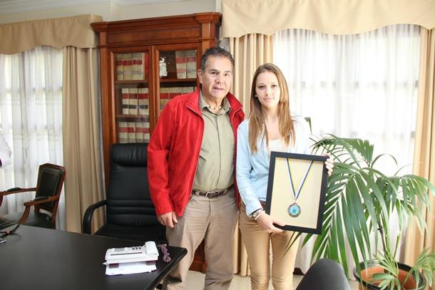 Roksana Kamila Wartman y José Miguel Rodríguez Fraga,