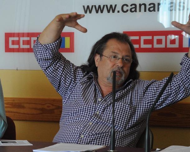 Juan Plasencia, CC.OO.