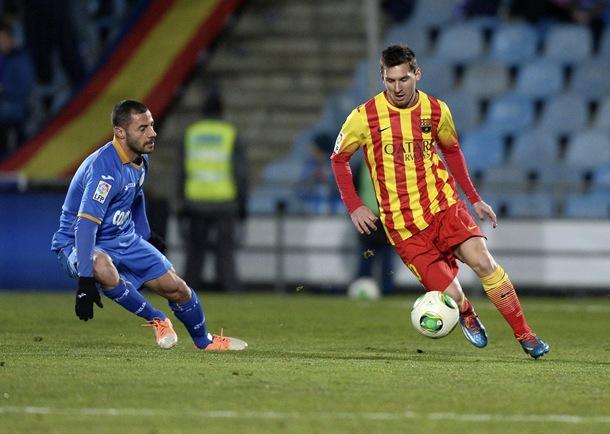 Leo Messi GETAFE-BARCELONA