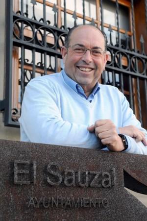 El alcalde sauzalero, Mariano Pérez, de Coalición Canaria. | MOISÉS PÉREZ