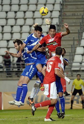 Murcia - Tenerife Bruno Carlos Ruiz Roberto defensa