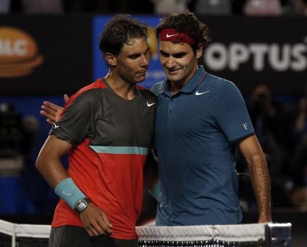 Nadal arrolla a Federer
