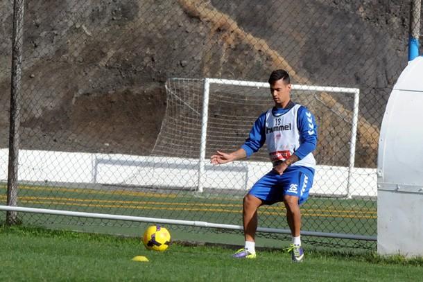 Nano entrenamiento CD Tenerife