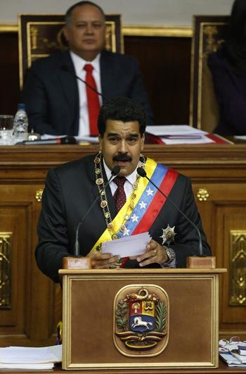 Nicolas Maduro y Diosdado Cabello Estado de la Nacion