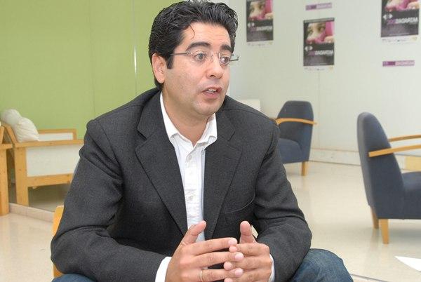 Pedro Martín durante la entrevista. | JESÚS MORA