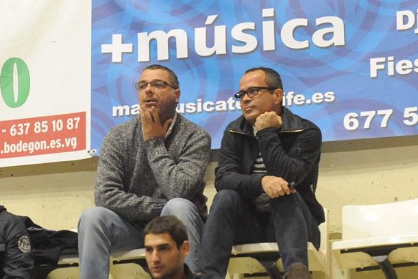 Quique Medina y Álvaro Cervera