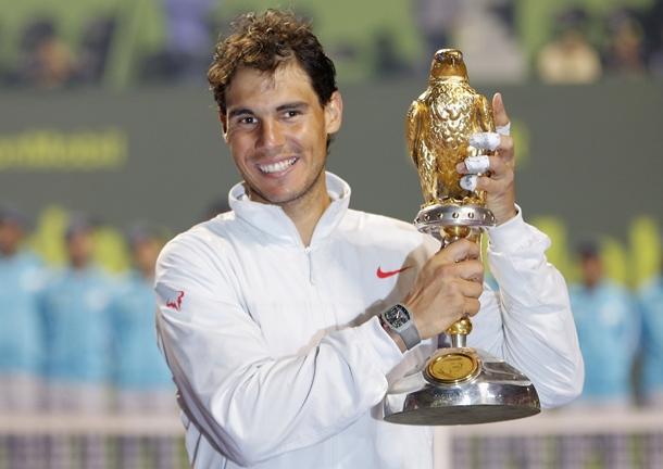 Rafael Nadal conquista Doha