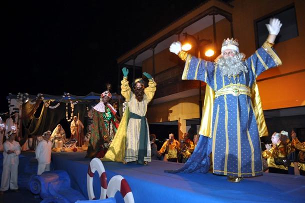 Reyes Magos en Puerto de la Cruz. | M.P.