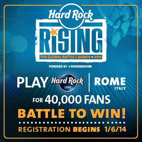 Hard Rock Café Rising 2014