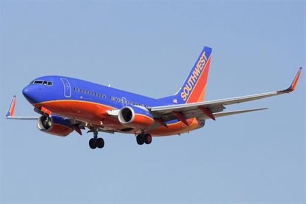 avión de la aerolínea Southwest Airlines.