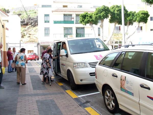 En marzo de 2009 el municipio de Candelaria inicio el servicio de taxi compartido, siendo pionero en la Isla. / DA