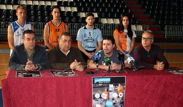 Todos al Pabellon CV Santa Cruz Uruguay Isla Unica y CB Meridiano