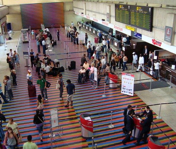 aeropuerto Caracas aeropuerto Simón Bolivar aeropuerto Maiquetía