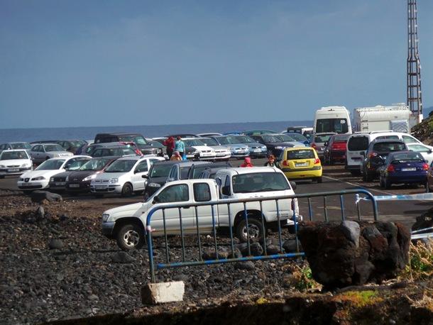 La explanada del muelle Puerto de la Cruz