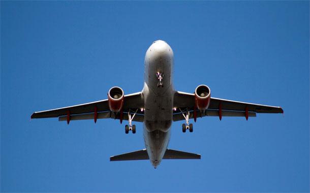 Avión vuelo comercial