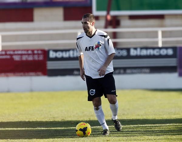 Ayoze Díaz estaba entrenando estos días con el programa de Sesiones AFE. / Alberto Iranzo (AFE).