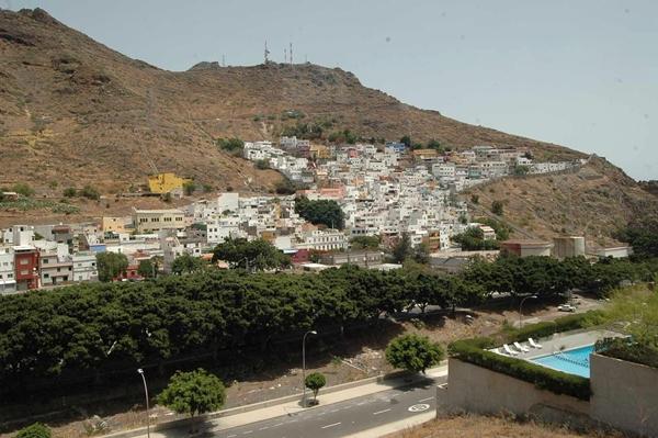 El barrio de La Alegría se caracteriza por la autoconstrucción y la ubicación en ladera. | F. PALLERO